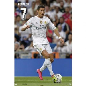 Plakát Real Madrid FC Ronaldo (typ 7)
