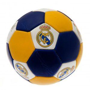 Fotbalový míč Real Madrid FC Nuskin s podpisy (velikost 3)